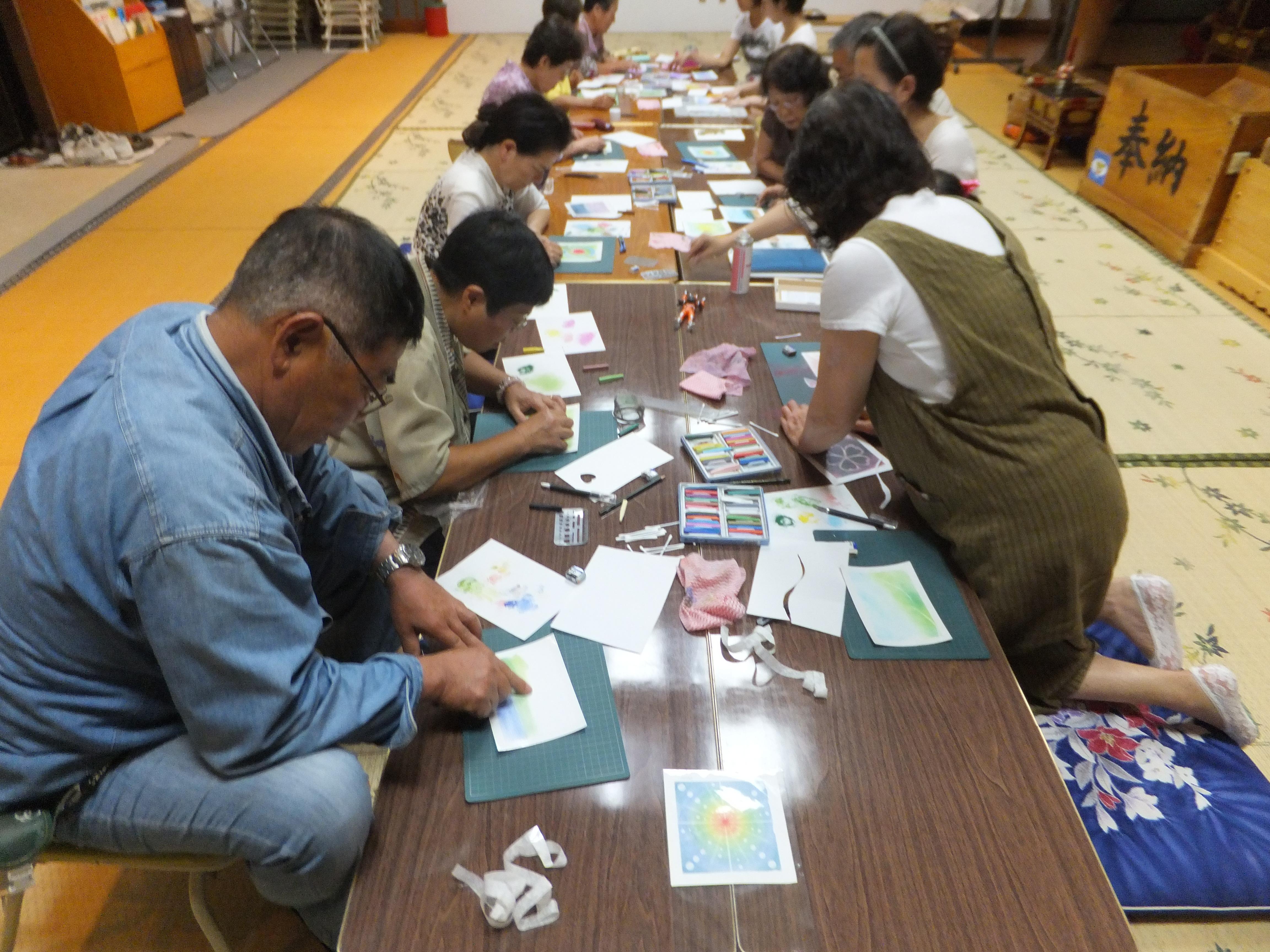 仏教塾 パステル和アート 妙國寺